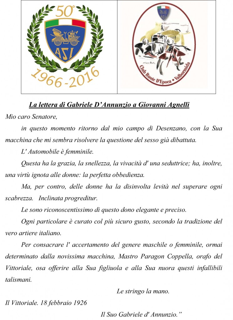 Microsoft Word - La lettera di Gabriele D